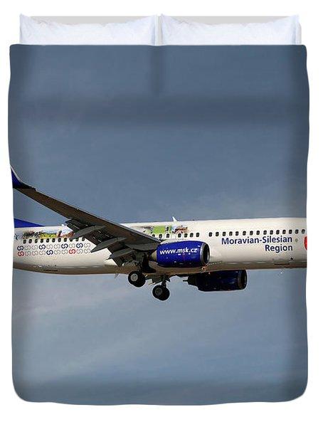 Travel Service Boeing 737-8cx Duvet Cover