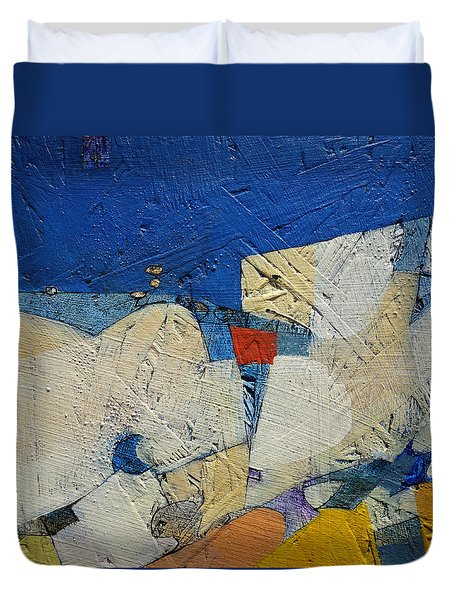 Untitled Duvet Cover by Ronex Ahimbisibwe