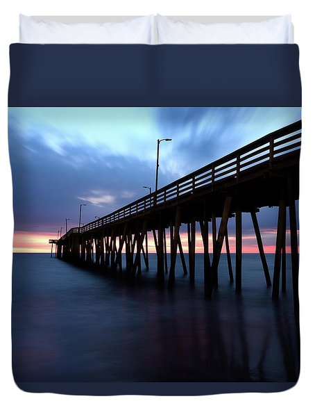 17th St. Virginia Beach, Va. Duvet Cover