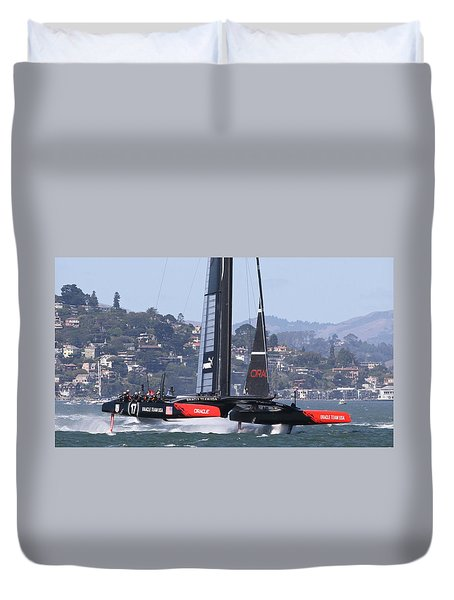 America's Cup Oracle Duvet Cover