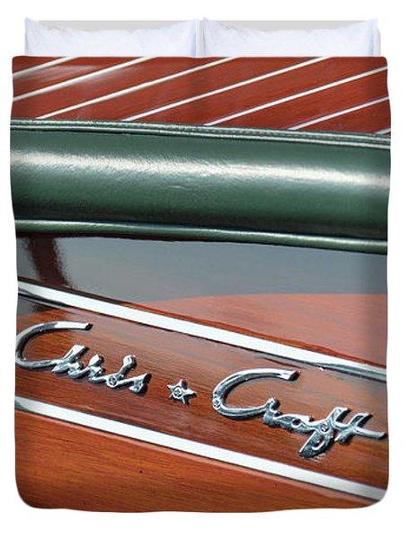 Classic Chris Craft Duvet Cover