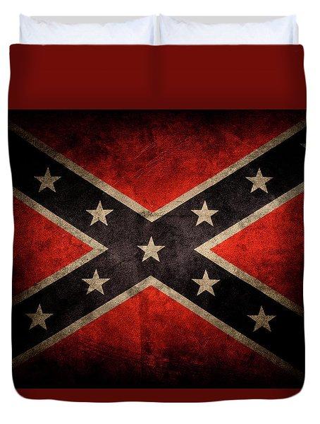 Confederate Flag 7 Duvet Cover