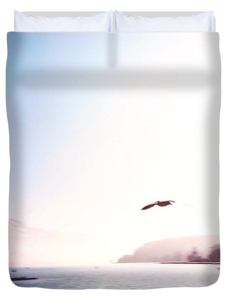 Annecy Lake Duvet Cover