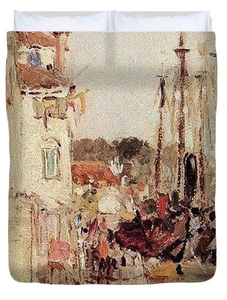 1890- Vasily Polenov Duvet Cover