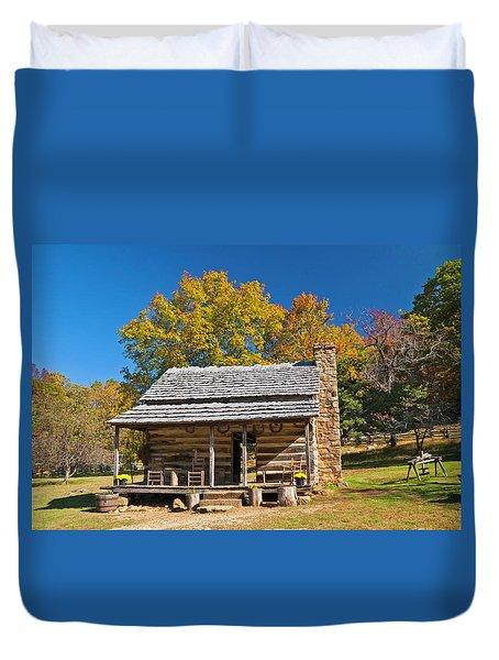 1890's Farm Cabin Duvet Cover