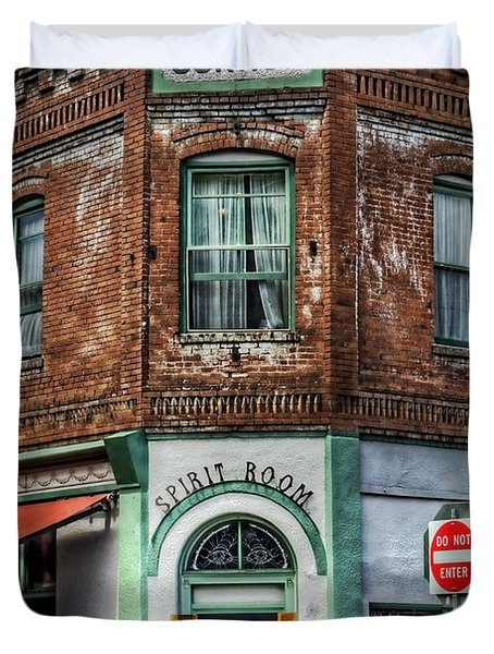 1898 Hotel Connor - Jerome Arizona Duvet Cover