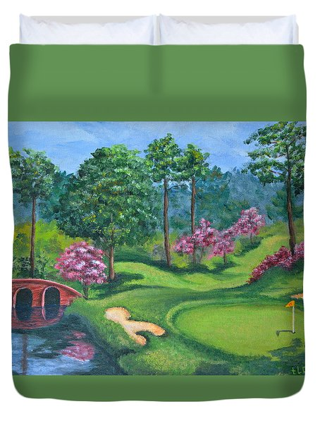 18th Hole Duvet Cover