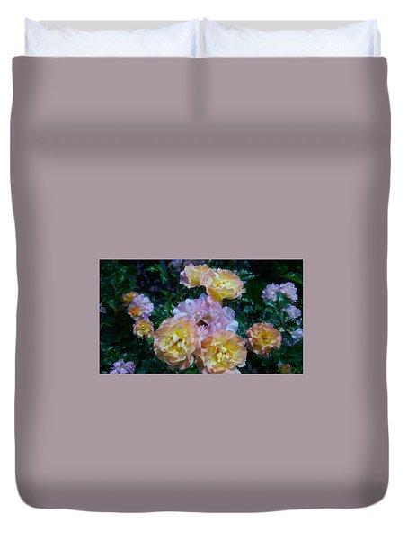 Rose Duvet Cover by Tomoko Takigawa