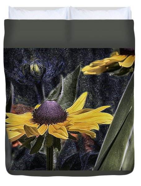Thinking Of Vincent Van Gogh Duvet Cover