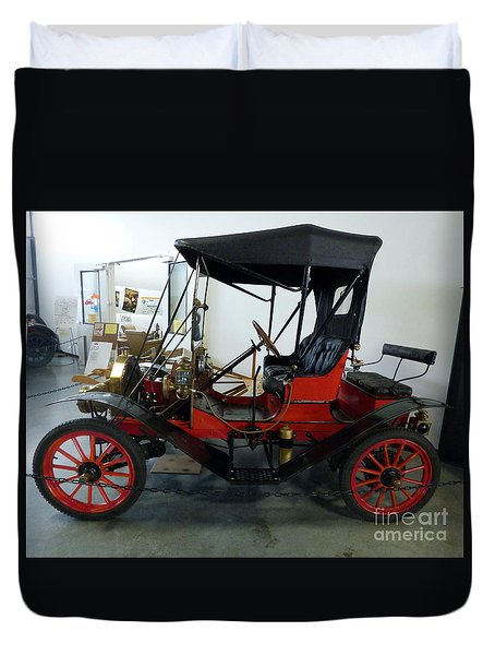 1910 Brush Runabout Duvet Cover