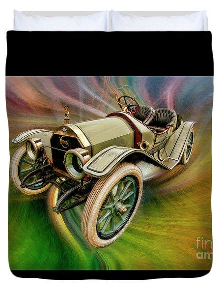 1912 Moon 30 Raceabout Duvet Cover