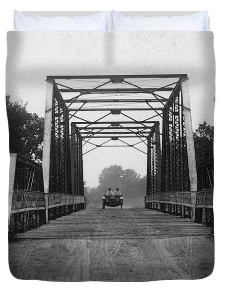 1915 Hudson Road Bridge Duvet Cover