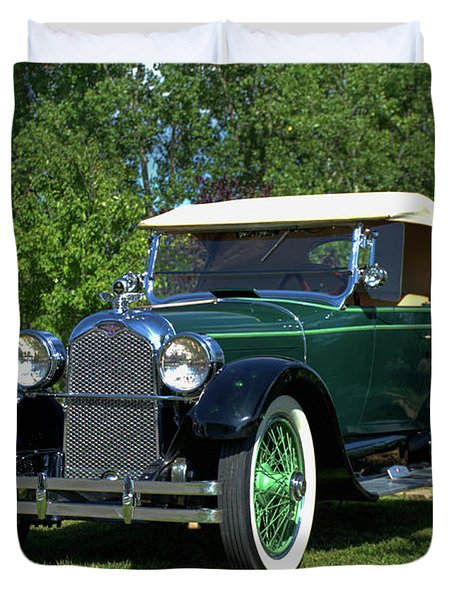 1922 Duesenberg Model A Duvet Cover