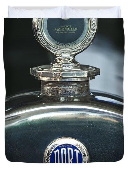 1923 Dort Sport Hood Ornament Duvet Cover by Jill Reger