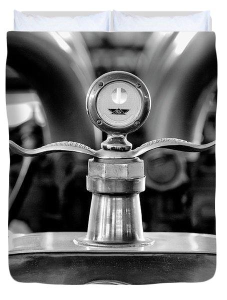 1923 Ford Hood Ornament 2 Duvet Cover