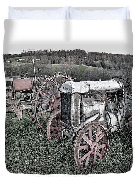 1923 Fordson Tractors Duvet Cover