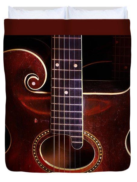 1923 Gibson Duvet Cover