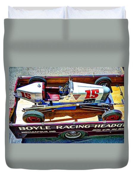 1927 Miller 91 Rear Drive Racing Car Duvet Cover