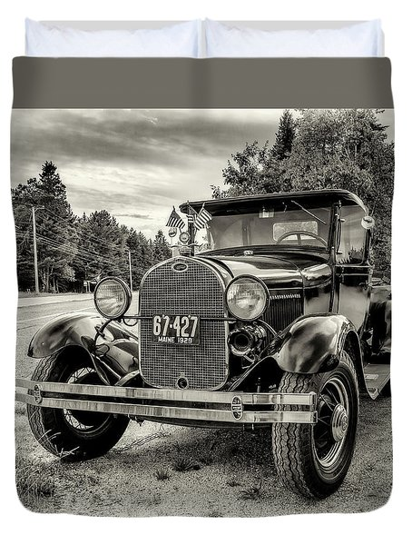 1929 Ford Model A Pickup Duvet Cover