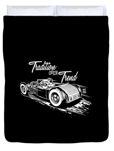 1929 Roadster Design Duvet Cover