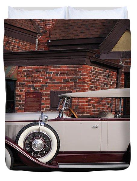 1930 Buick Phaeton Duvet Cover