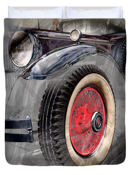 1930 Packard Duvet Cover