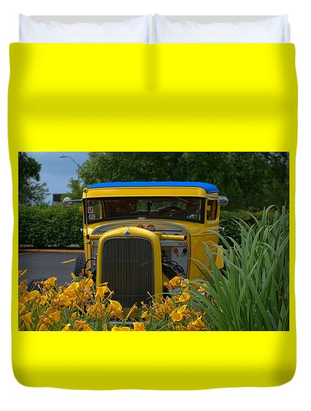 1931 Ford Sedan Hot Rod Duvet Cover by Tim McCullough