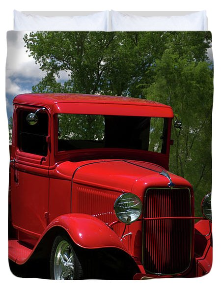 1932 Ford Flatbed Pickup Duvet Cover