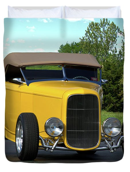 1932 Ford Roadster Duvet Cover