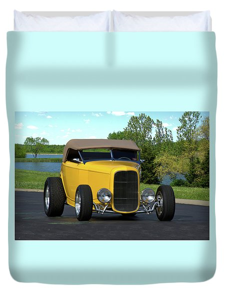 1932 Ford Roadster Duvet Cover by Tim McCullough