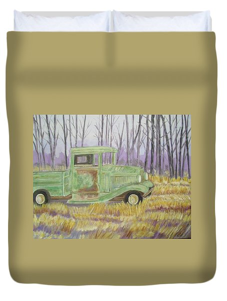 1932  Greenford Pickup Truck Duvet Cover