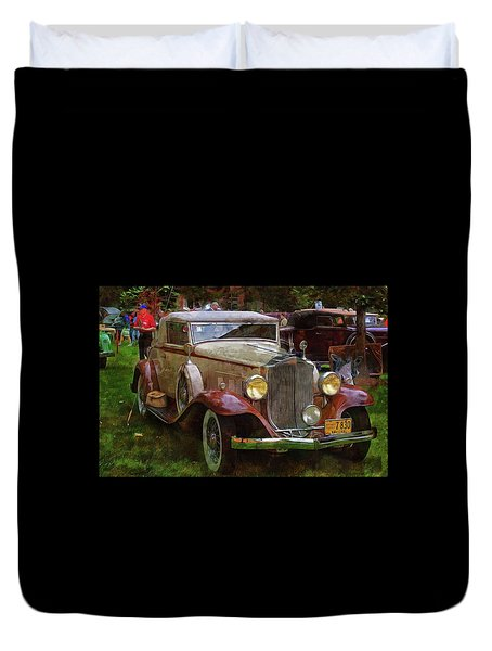 1932 Packard 900 Duvet Cover