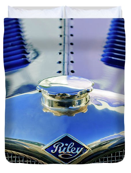 1934 Riley Hood Ornament Duvet Cover