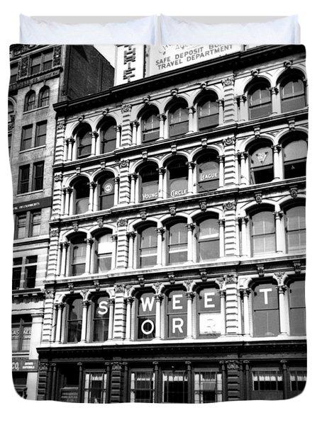 1935 15 Union Square New York City Duvet Cover