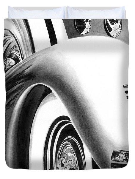 1935 Lasalle Abstract Duvet Cover by Peter Piatt