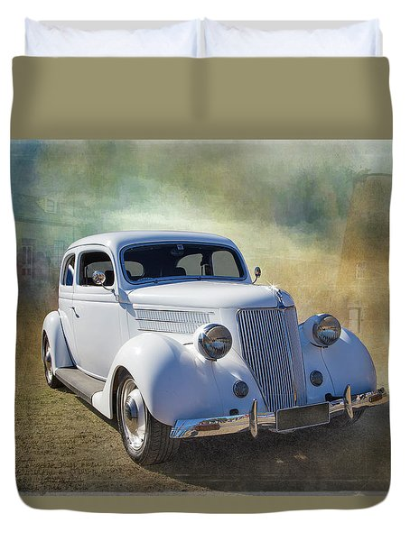 1936 Ford Duvet Cover