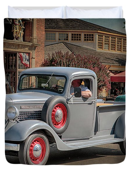 1936 Gmc T-14 Pickup  Duvet Cover