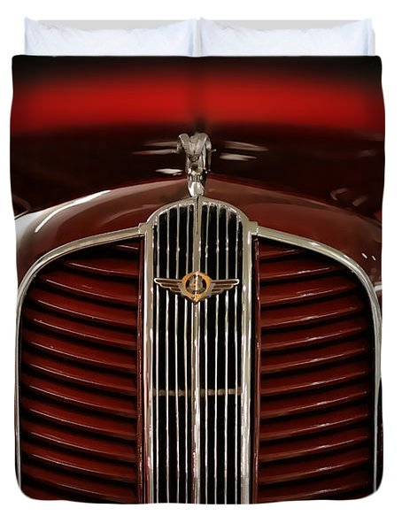 1937 Dodge Half-ton Panel Delivery Truck Duvet Cover by Gordon Dean II