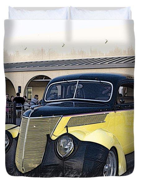 1937 Ford Deluxe Sedan_a2 Duvet Cover