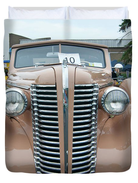 1938 Buick 2087 Duvet Cover by Guy Whiteley