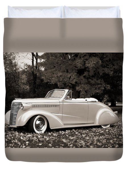 1938 Chevrolet Convertible Duvet Cover