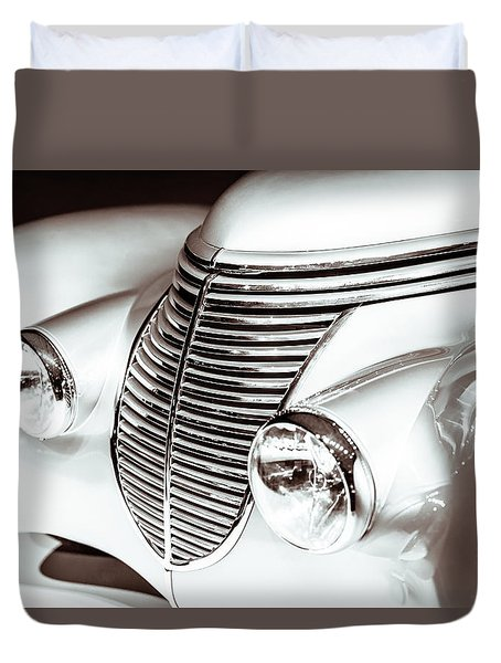 1938 Hispano-suiza H6b Xenia Front Duvet Cover by Wade Brooks