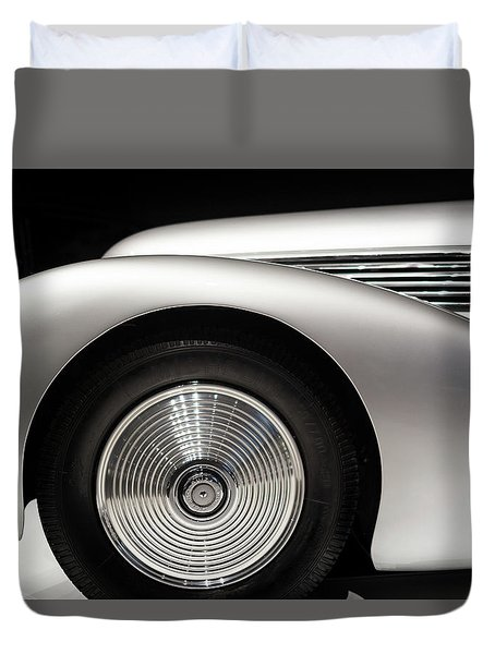 1938 Hispano-suiza H6b Xenia Duvet Cover by Wade Brooks