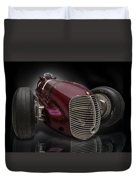 1939 Maserati 8ctf Indy Racer Duvet Cover