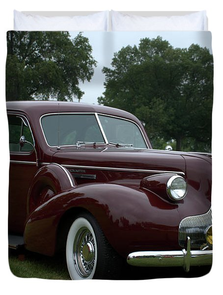 1939 Buick Roadmaster Formal Sedan Duvet Cover