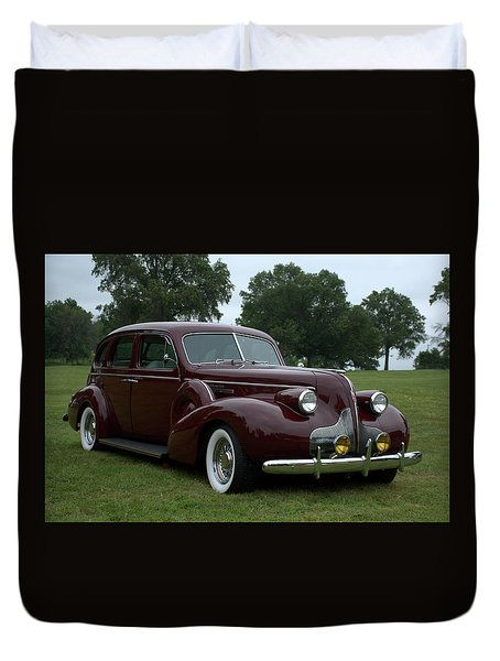 1939 Buick Roadmaster Formal Sedan Duvet Cover by Tim McCullough