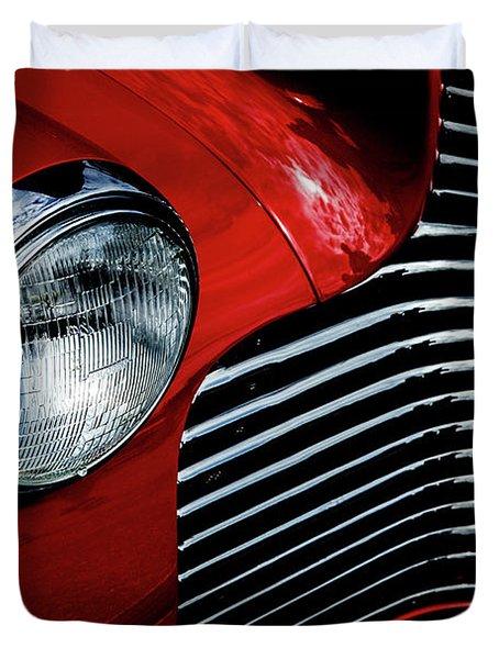 1940 Chevy 2-door Duvet Cover