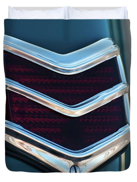 1940 Ford Deluxe Coupe Duo Lamp Tail Light 2 Duvet Cover