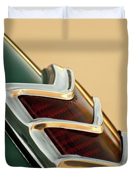 1940 Ford Deluxe Coupe Duo Lamp Tail Light Duvet Cover