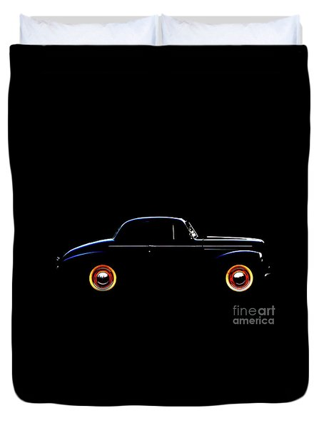 1940 Studebaker Business Coupe Duvet Cover